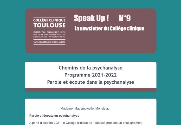 Les Chemins de la psychanalyse - session 2021-2022